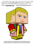 Cubeecraft - The 6th Doctor by CyberDrone