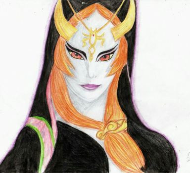 Midna (Zelda Twilight princess) by kittyzir3