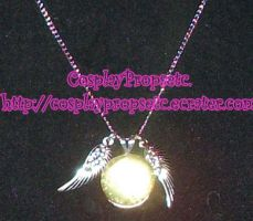 Harry Potter Snitch Necklace by CosplayPropsEtc