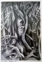 the eye of the forest part 2 by the-surreal-arts