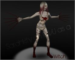 Witch from L4D on IMVU by SezzyKat