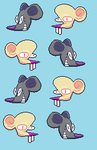 Roket Mouse by Singerwolf