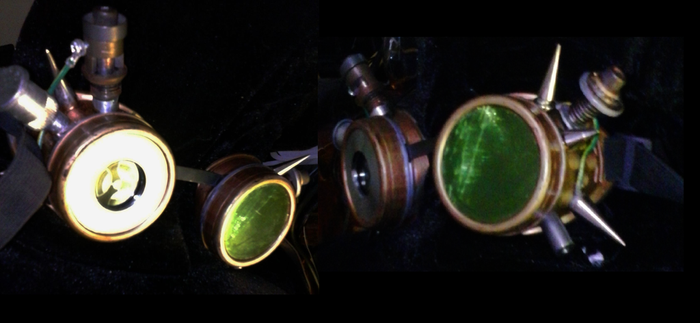 Steam Punk Goggles. by ZEPHIEL