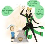 Loki goes to Disney part 2 by CicatriceMiki