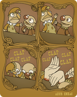 Puppet Show by mapacheanepicstory
