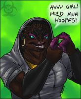 Shaqueefa-Krogan Booteh by Mottenfest