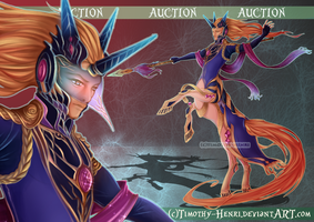 (CLOSED) - Royal Centaur Adoptable Auction #025 by Timothy-Henri