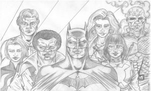 THE BATMAN AND THE OUTSIDERS by studioquimera