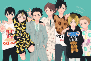 Haikyuu Day 2015 by rota-ko