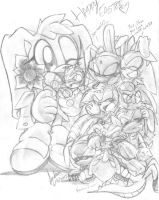 HAPPY EASTER 2012! by andreahedgehog