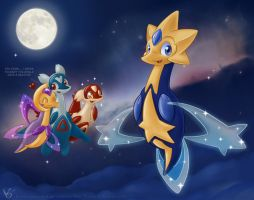 Staromio the starlight pokemon