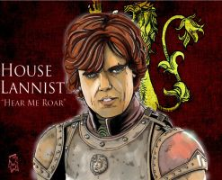 Tyrion Lannister by Spidertof