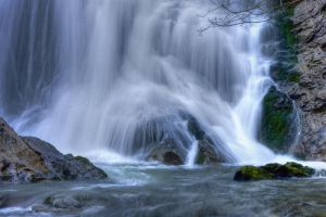 Waterfall I by joanchris