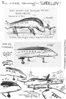 Siddeley sketches by amberchrome