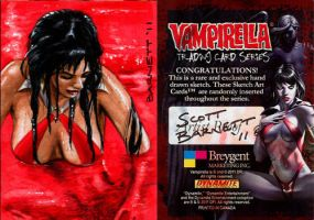 Vampirella Artist Proof 4 by artguyNJ