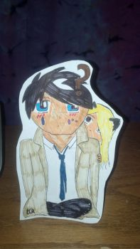 Cas and Pancake by TPHeartbreaker