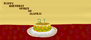 Birthday Gift For Spirit-Of-Alaska! by InsectHuntress