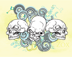 Skulls by Zox-Apd