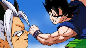 GOKU VS ZAIKO by salvamakoto