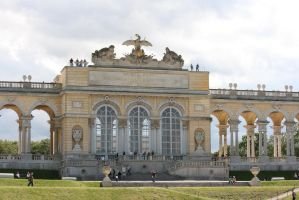 view to Gloriette  closer 13 by ingeline-art