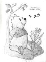 Winnie the Pooh by MangledMisfit