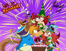 Rayman's 20th Anniversary! Happy Birthday Rayman! by Bradandez
