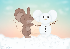 Snowmouse by ZeroFaded