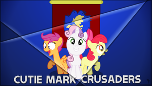 The Cutie Mark Crusaders by WarmHandsInColdFog