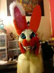 My Partial Fursuit Head  by mikeray87