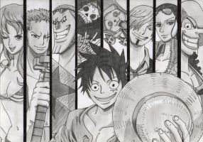 Straw Hat Crew by Jbgombert