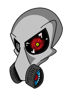Gas mask by slinker92