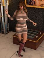 Miss Mia - I love my new outfit by LillithsBernard