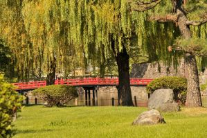 Bridge to Matsumoto's Castle by AndySerrano