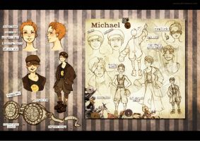Michael Chara Sheet by Zae369