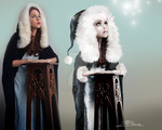 WIP snow spirits by Toefje-Kunst