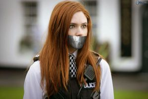 amy pond tape gagged by gaggeddude32