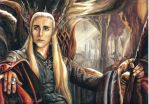 Thranduil by slightlymadart