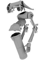 WIP - Floater Droid by Shikijiyu