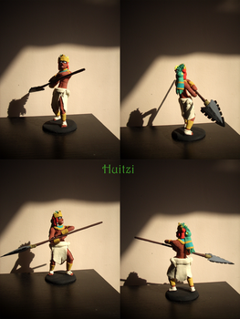Sculpture - TGT - Huitzi by Fluna