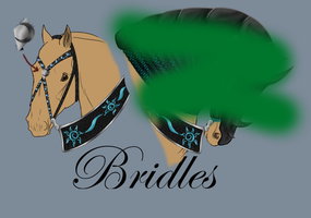 Nordy Tack Bridle-SOLD by patchesofheaven74