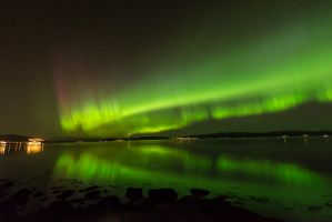 Northern lights by lashrasch