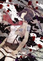 Shingeki no Kyoujin: Blood stains by Eternal-S