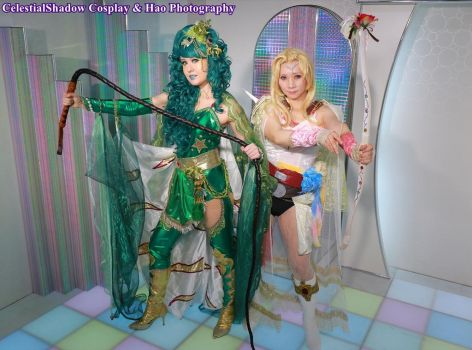Rydia and Rosa FF4 by CelestialShadow19