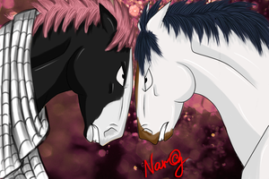 FT: Natsu and Gray ^^ by Narikusha