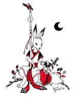 Hare Night Guard by redwall-club