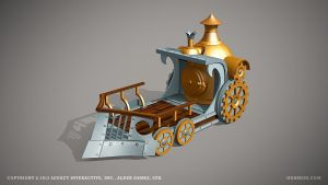 Train by ogami3d