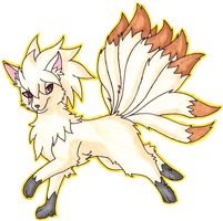 038 Ninetales - Request by Lornext