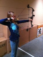 Compound Bow!!! by blackstormwarrior
