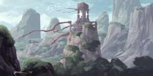 Temple Lighthouse by onlychasing-safety