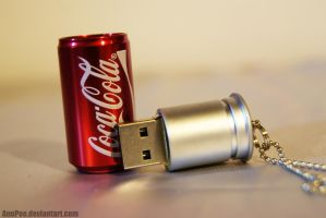 Coca-Cola USB by AnnPoe
